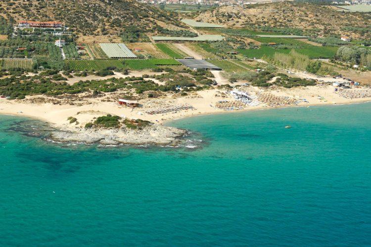 Kavala beach Ammolofoi